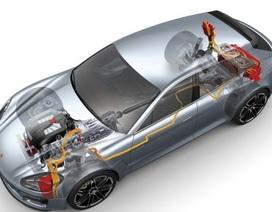 Porsche Panamera sẽ dùng chung cơ sở gầm bệ với xe Bentley